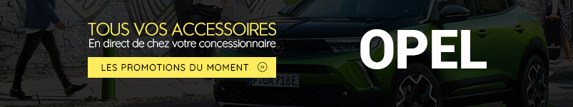 promotions accessoires opel